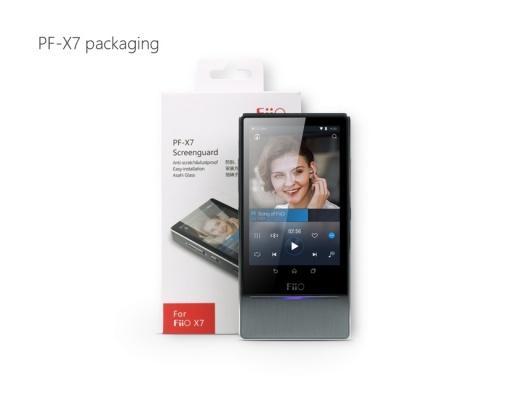 FiiO PF-X7 Tempered Glass Screen Protector per FiiO X7