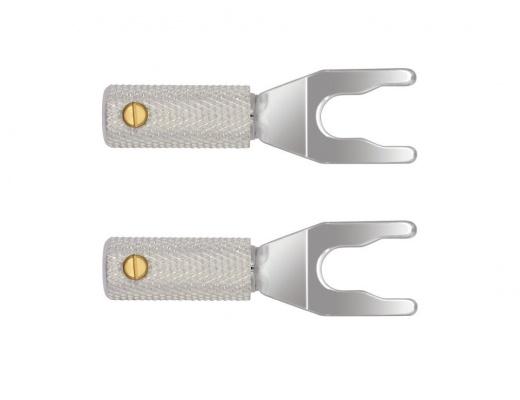 Forcelle WireWorld Uni-Term Silver con attacco universale (2-Set