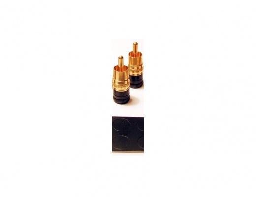 Copripresa Acoustic Revive SIP-8F Short Plug per input RCA 2-Set
