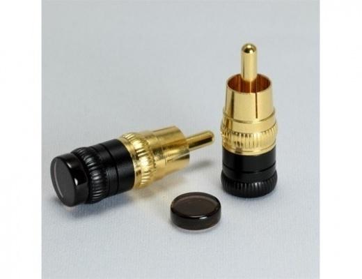 Copripresa Acoustic Revive SIP-8Q Short Plug per input RCA 2-Set