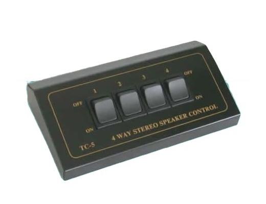 TCC TC-5 4-Way Stereo Speaker Selector
