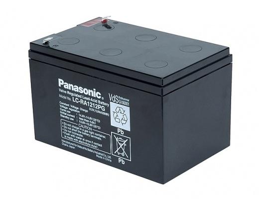 Batteria al piombo sigillata Panasonic 12V 12A