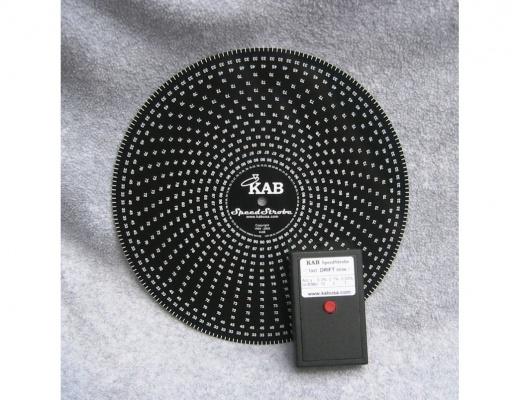 KAB SpeedStrobe Misuratore di velocità per giradischi