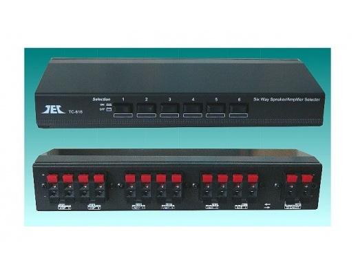 TCC TC-616 Selettore Stereo per Amplificatori/diffusori