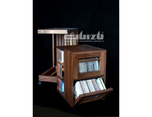 Guizu WCL-box (CD) Carrellino Porta CD