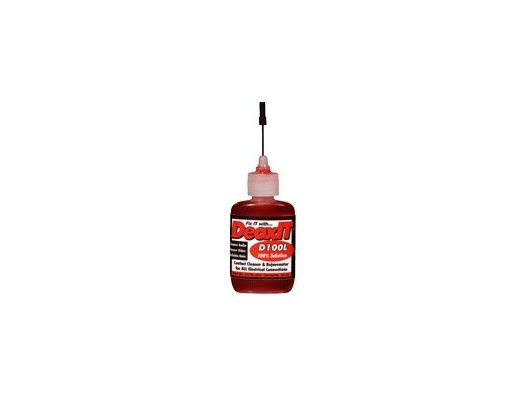 Caig DeoxIT electrical cleaner 100% 25ml liquid
