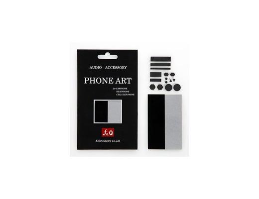 """""""fo.Q"""" Phone Art SB-01 Adesivo antivibrazioni sottile"""