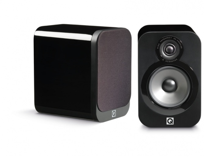 Q acoustics 3020 coppia diffusori acustici   playstereo