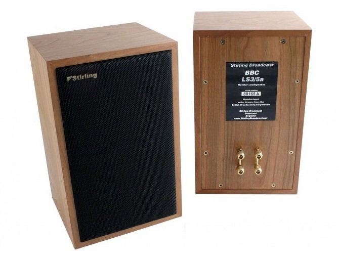Stirling Broadcast LS3/5a V2 Loudspeakers pair