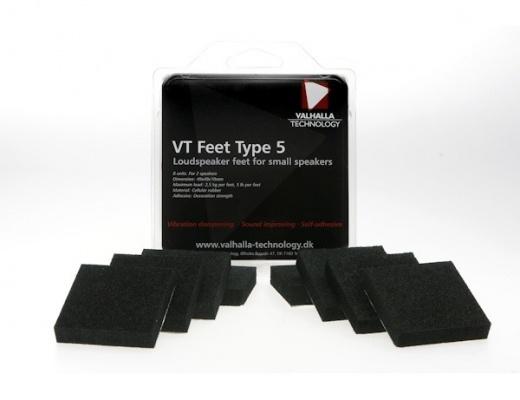 Valhalla Technology VT Feet Piedini per diffusori (Set di 8)