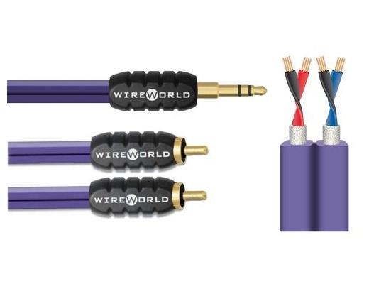 WireWorld Pulse minijack / RCA (PUN) cavo di segnale stereo