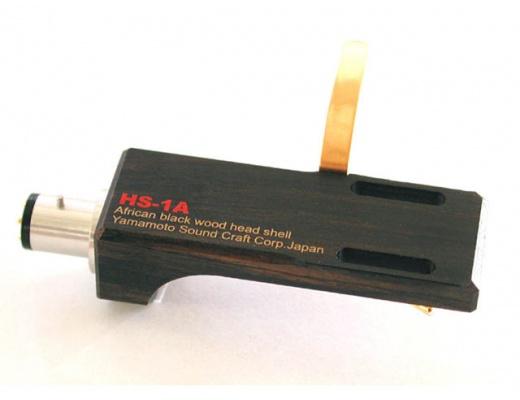 Yamamoto HS-1A / HS-1As Headshell in ebano nero africano