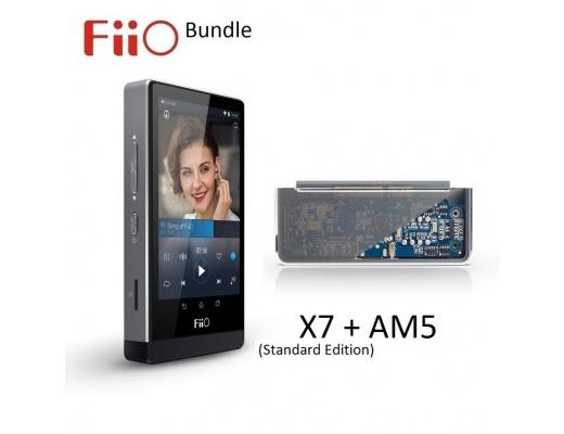 Lettore FiiO X7 Standard Edition + Modulo amplificazione AM5 - Bundle