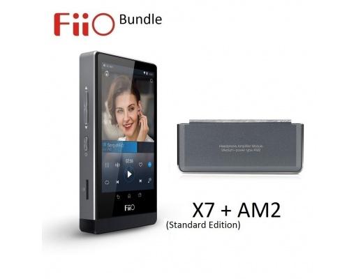 Lettore FiiO X7 Standard Edition + Modulo amplificazione AM2 - Bundle