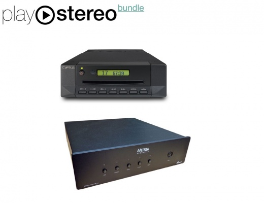 Sistema di lettura CD - Cyrus CD t + Metrum Menuet DAC