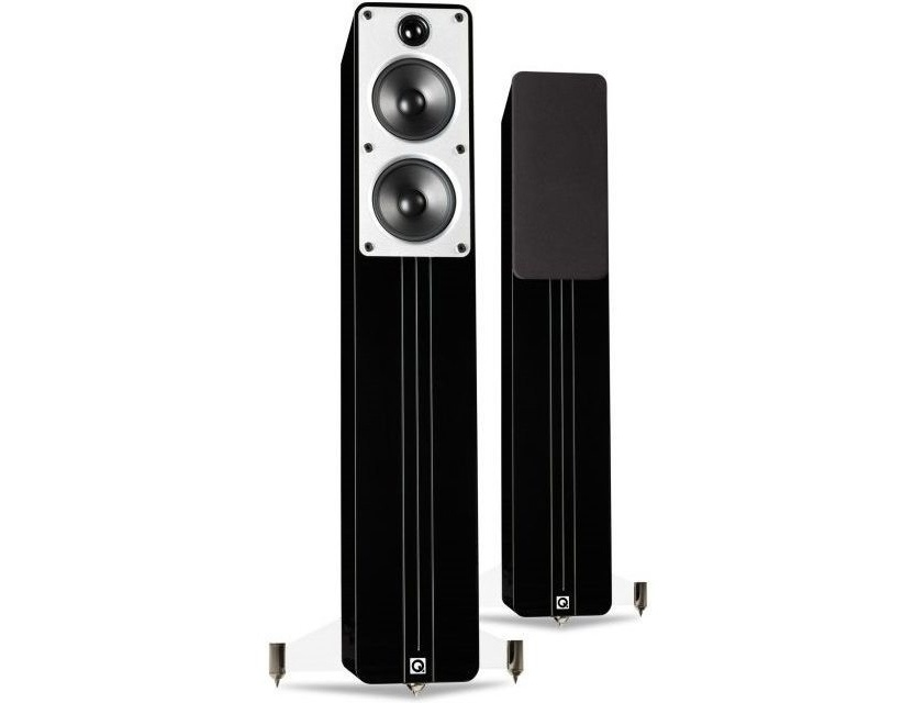 Q Acoustics Concept 40 Speakers pair Piano Black [ex-demo]