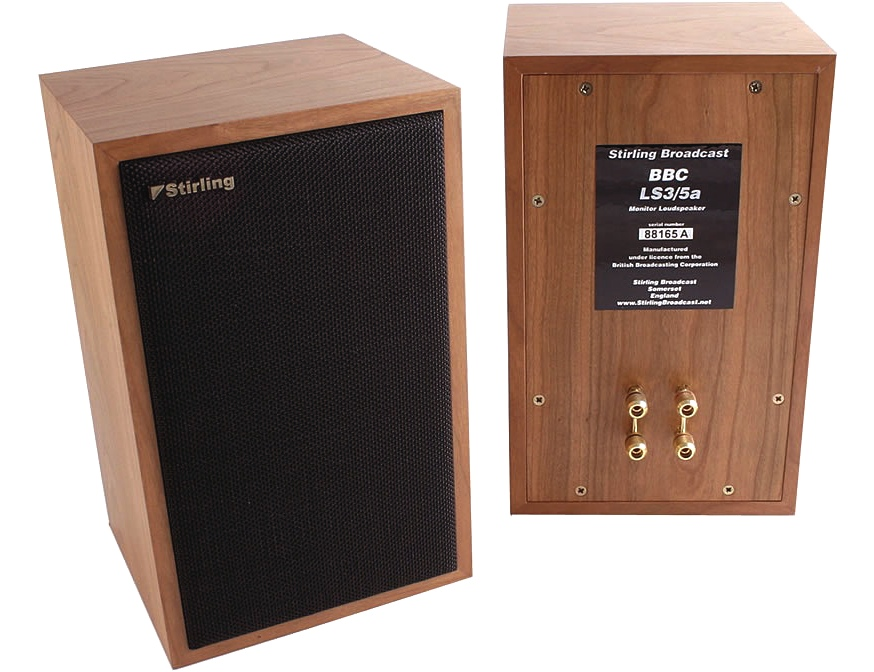 Stirling Broadcast LS3/5a V2 Rosewood LE [ex-demo]