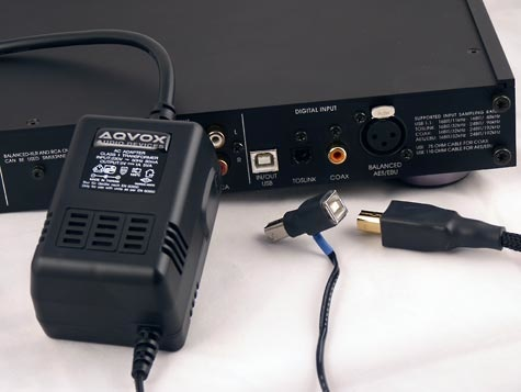 AQVOX USB Low Noise Linear Power Supply