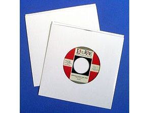 45 rpm Cardboard Jackets with center hole (10 Set)