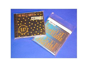 100 jewel-box resealable CD Sleeves