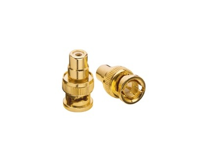 BNC-RCA Gold plated Adaptor