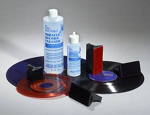 Disc Doctor's Miracle Record Kit (Size A) Brushes & Cleaner LP