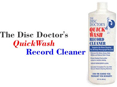 Disc Doctor's Quick Wash Record Cleaner 943ml.