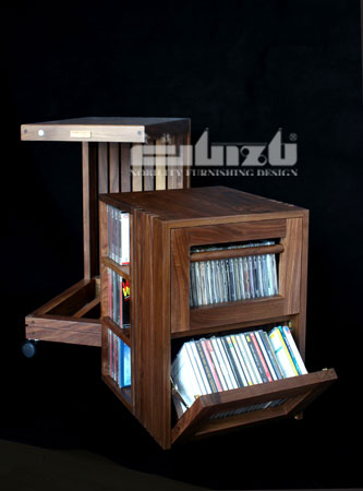 Guizu WCL-box (CD) CD Storage Cart