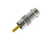 HICON Female BNC to RCA Male Adapter