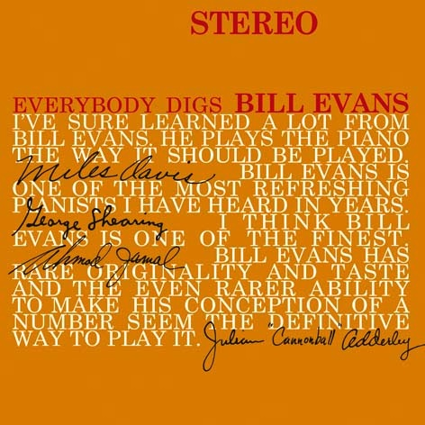 Bill Evans Trio - Everybody Digs Bill Evans - LP