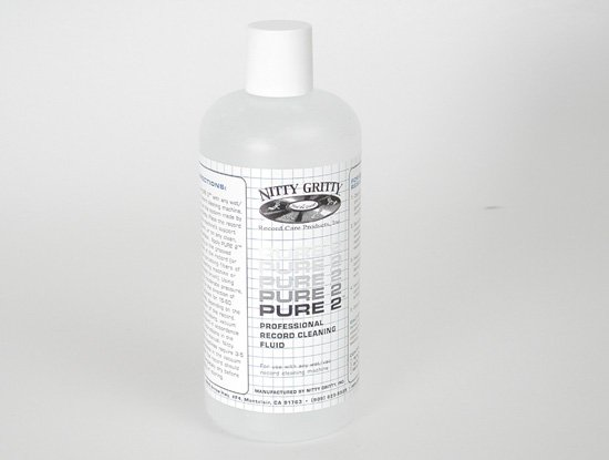 Nitty Gritty PURE 2 LP Record Cleaning Fluid 0,5L