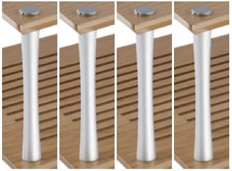 Quadraspire 32mm Columns (Set of 6)