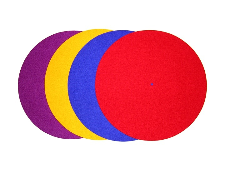 Rega Turntable coloured mats
