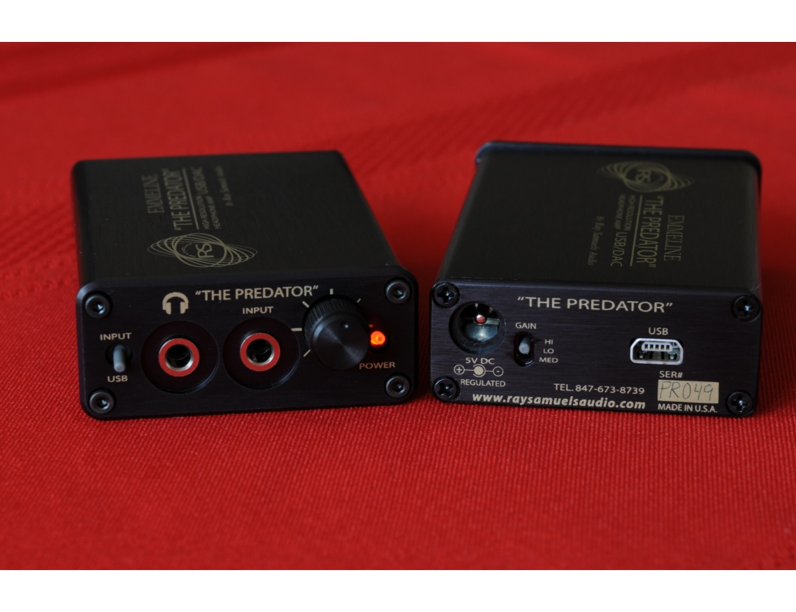 Ray Samuels The Predator Portable Headphone Amplifier & USB DAC