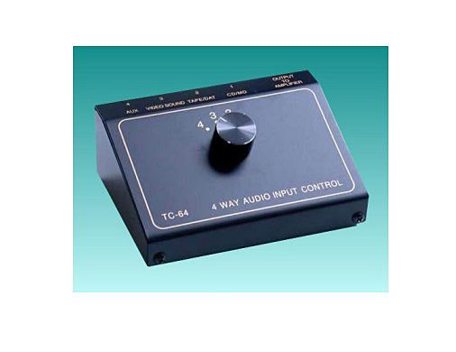 TCC TC-64 4-Way Audio Input Switch