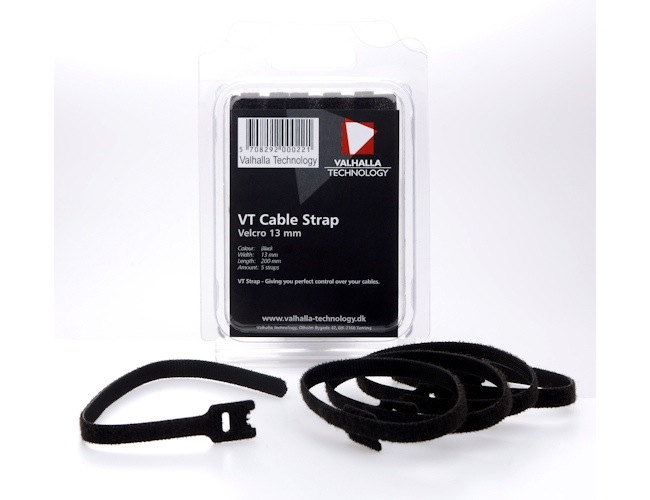 Valhalla Technology VT Velcro Cable Straps (Set of 5)