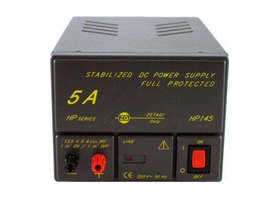 ZetaGi HP145 12V 5A Stabilized Power Supply