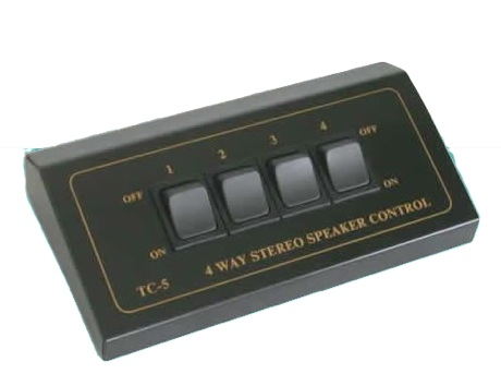 TCC TC-5 4-Way Stereo Speaker Selector