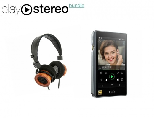 FiiO X5 III Hi-Res Digital Portable Audio Player 32/768 + Alessandro Grado Music Series MS-PRO(e) Headphones - Bundle