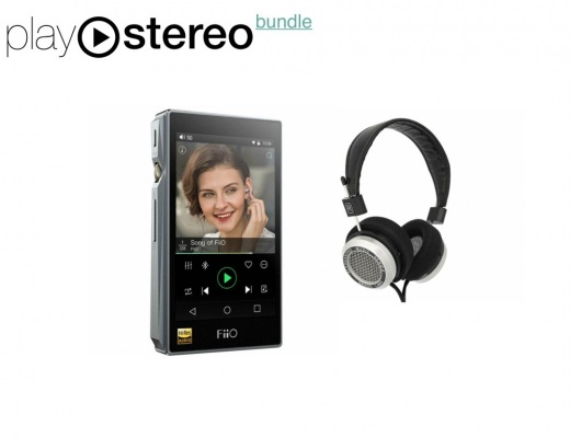 FiiO X5 III Hi-Res Digital Portable Audio Player 32/768 +Alessandro Grado Music Series MS-2(e) Headphones - Bundle
