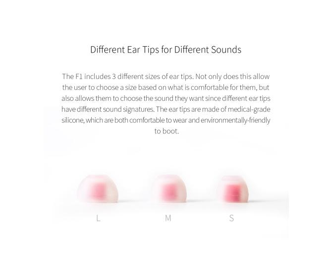 FiiO F3 Dynamic In-Ear Monitors with Mic