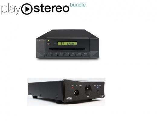 CD Reading System - Cyrus Audio CD t + Metrum Amethyst DAC