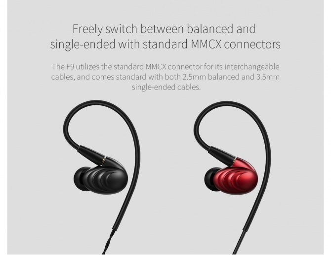 FiiO F9 In-Ear Monitors
