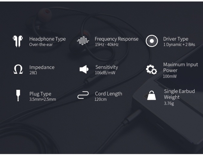 FiiO F9 In-Ear Monitors