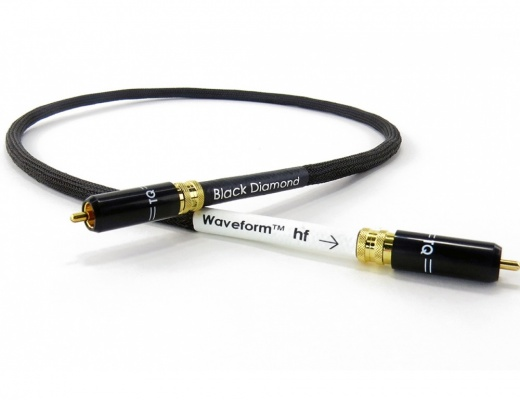Tellurium Q Waveform™ hf Series Digital Black Diamond RCA Cable