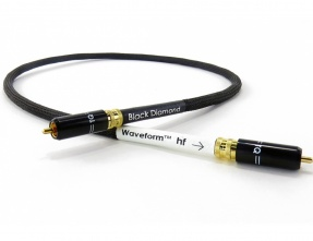 Tellurium Q Waveform™ hf Series Digital Black Diamond RCA Cavo digitale coassiale