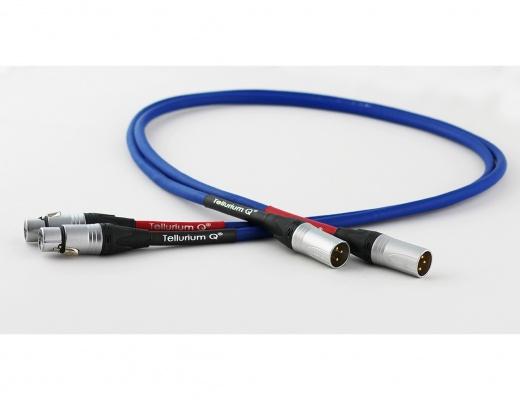 Tellurium Q Blue XLR Balanced Interconnects