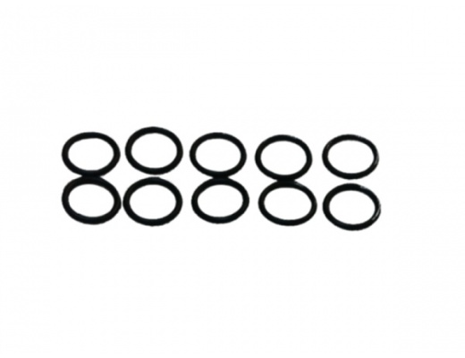 HANNL original o-rings for the spinning brush (Set of 10)