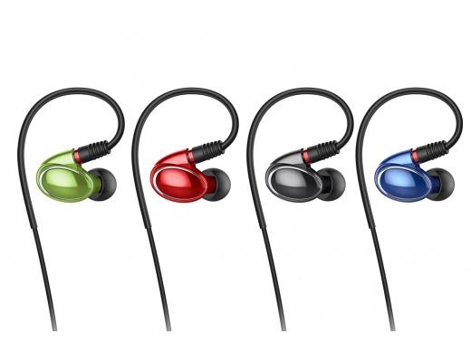 FiiO FH1 Auricolari In-Ear 2-Driver Ibrido Cavo MMCX Staccabile +Bilanciato
