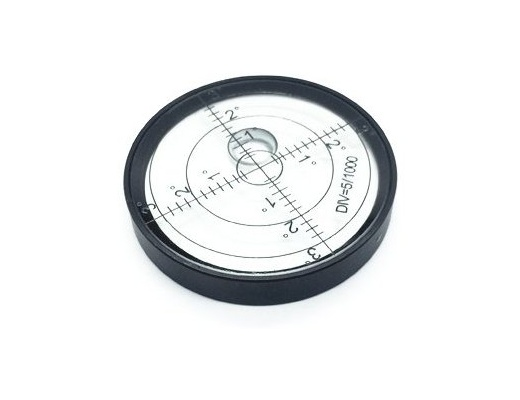 Playstereo Circular spirit level for turntables 60mm